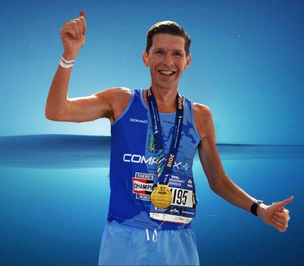 Marathon running shirts by Donaci