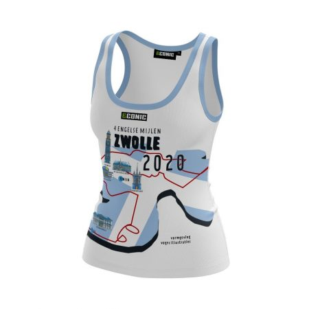 4 Engelse Mijlen Zwolle hardloopshirt dames