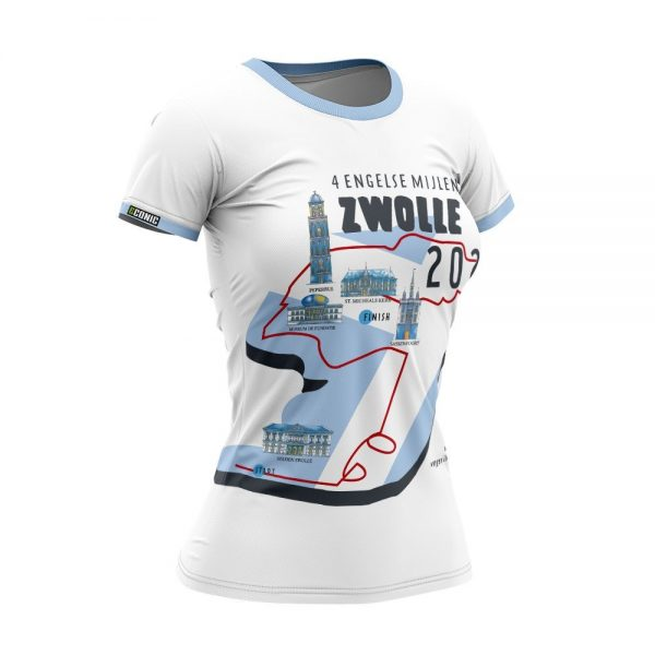 Hardloopshirt dames 4 Engelse mijl Zwolle